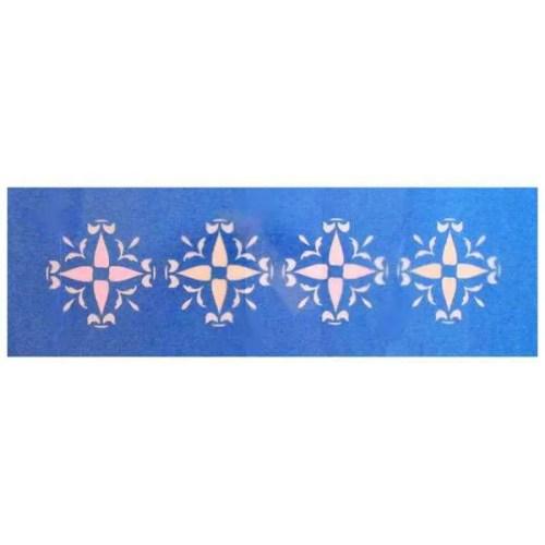 Symmetrical Flower Stencil