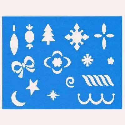 Merry Little Christmas Stencil