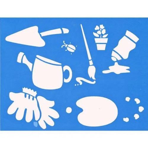 Art & Gardening Stencil