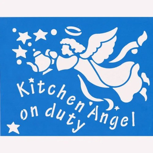 Kitchen Angel Stencil