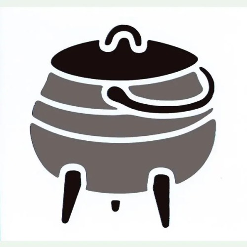 Potjie Pot Stencil
