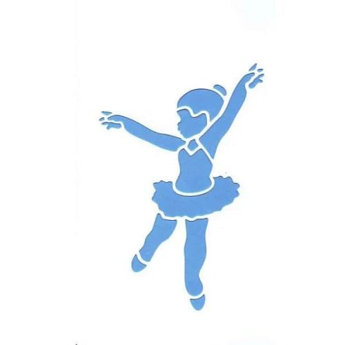 Ballerina Stencil
