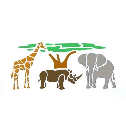 Wildlife Stencil