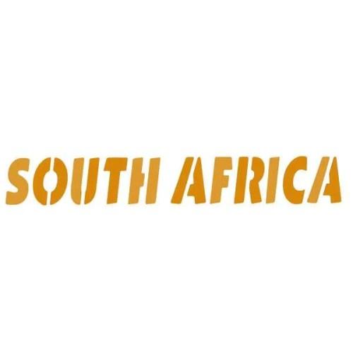 South Africa Border Stencil