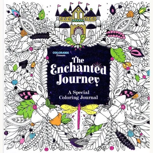 Enchanted Journey Colouring Book