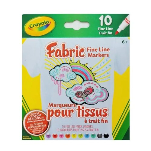 Fabric Fine Line Markers 10