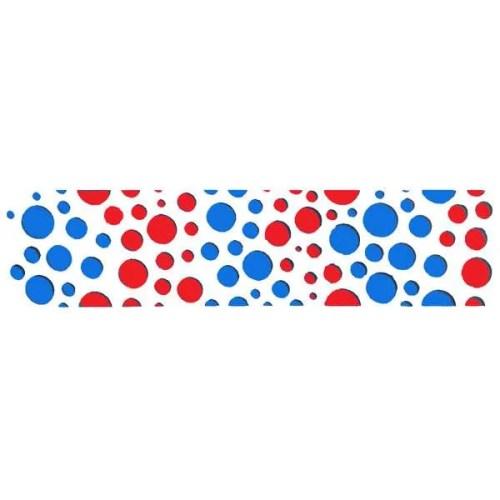 Bubble Texture Border Stencil