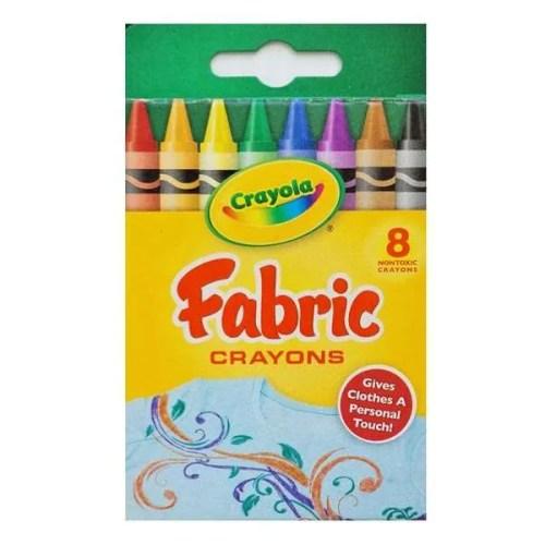 Crayola Fabric Crayons 8