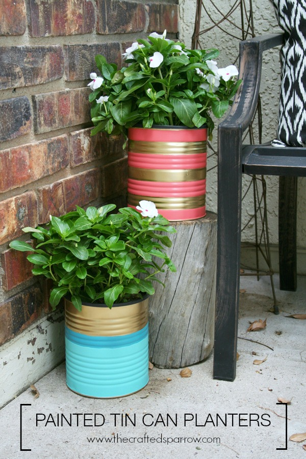 painted-tin-can-planters
