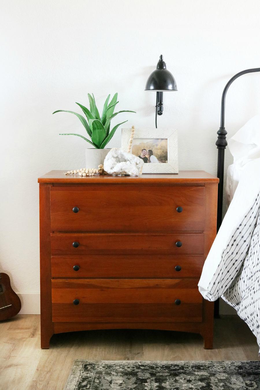 Black  White Boho Inspired Bedroom Makeover