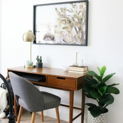 Cute Desk Chairs Graco Duodiner High Chair Reviews Mid-century Boho Inspired Workspace