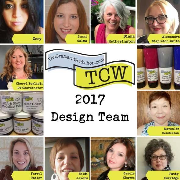 The Crafter's Workshop 2017 Design Team