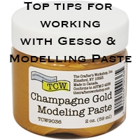 Gesso vs Modeling Paste