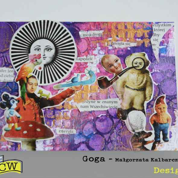 Malgorzata-Kalbarczyk-Leonczuk-Mixed media postcard with paper cuts