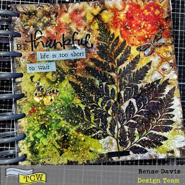 Be Thankful Always Art Journal By Renae Davis