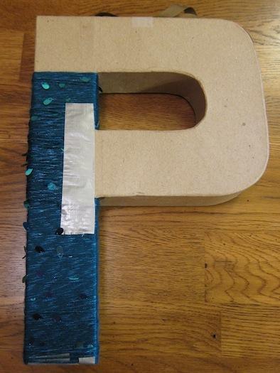 cardboard_letter_P_wreath8