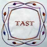 Pintangle's Take a Stitch Tuesday (TAST) by Sharon Boggon