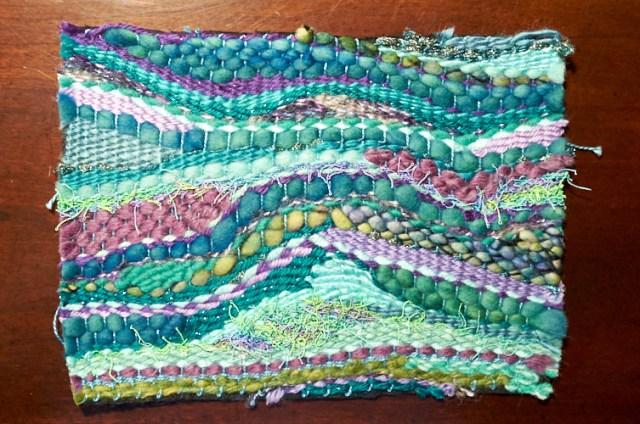 pin weaving