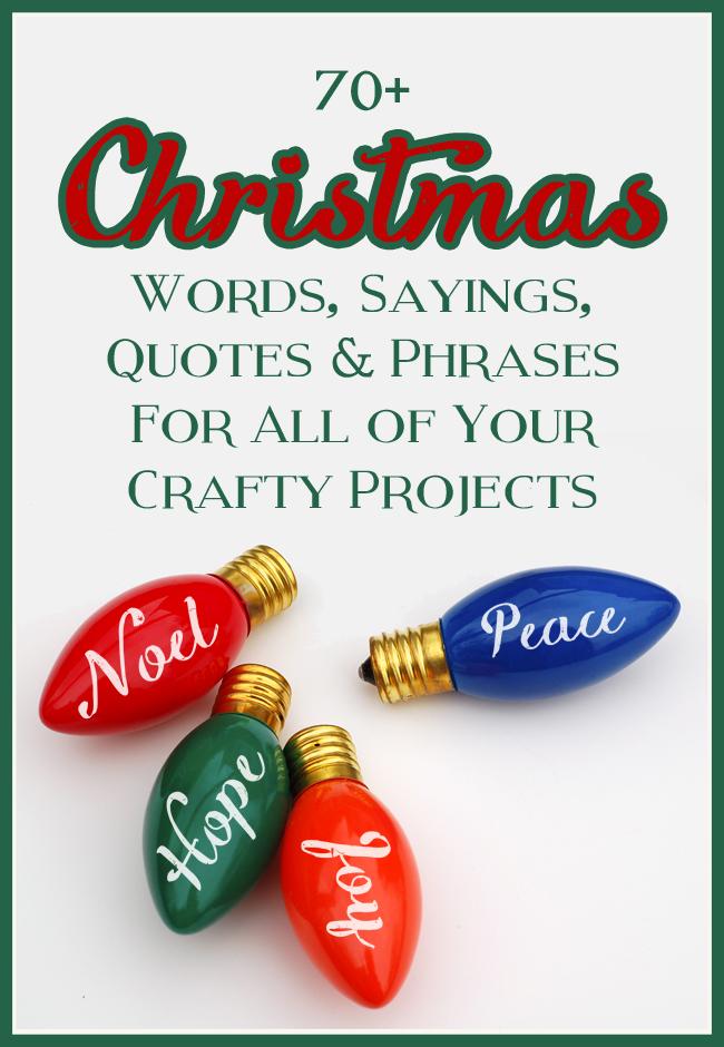 mega list of christmas