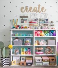 Colorful Craft Room Tour - thecraftpatchblog.com