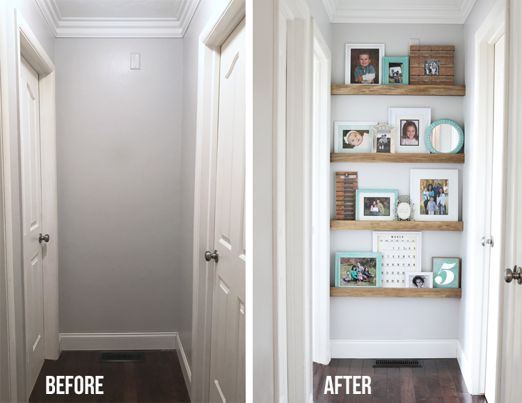 Image result for end of hallway before and after