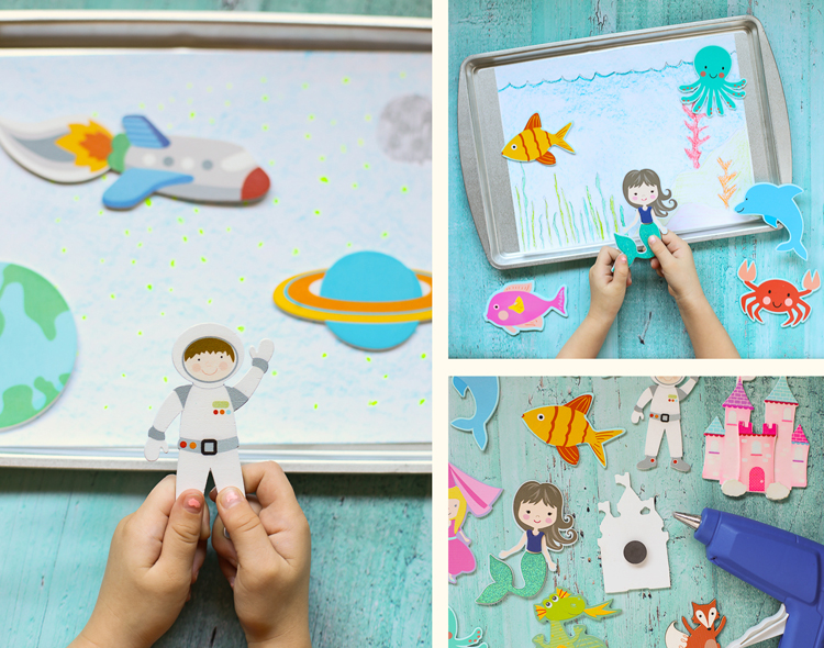magnetic cookie sheet toy