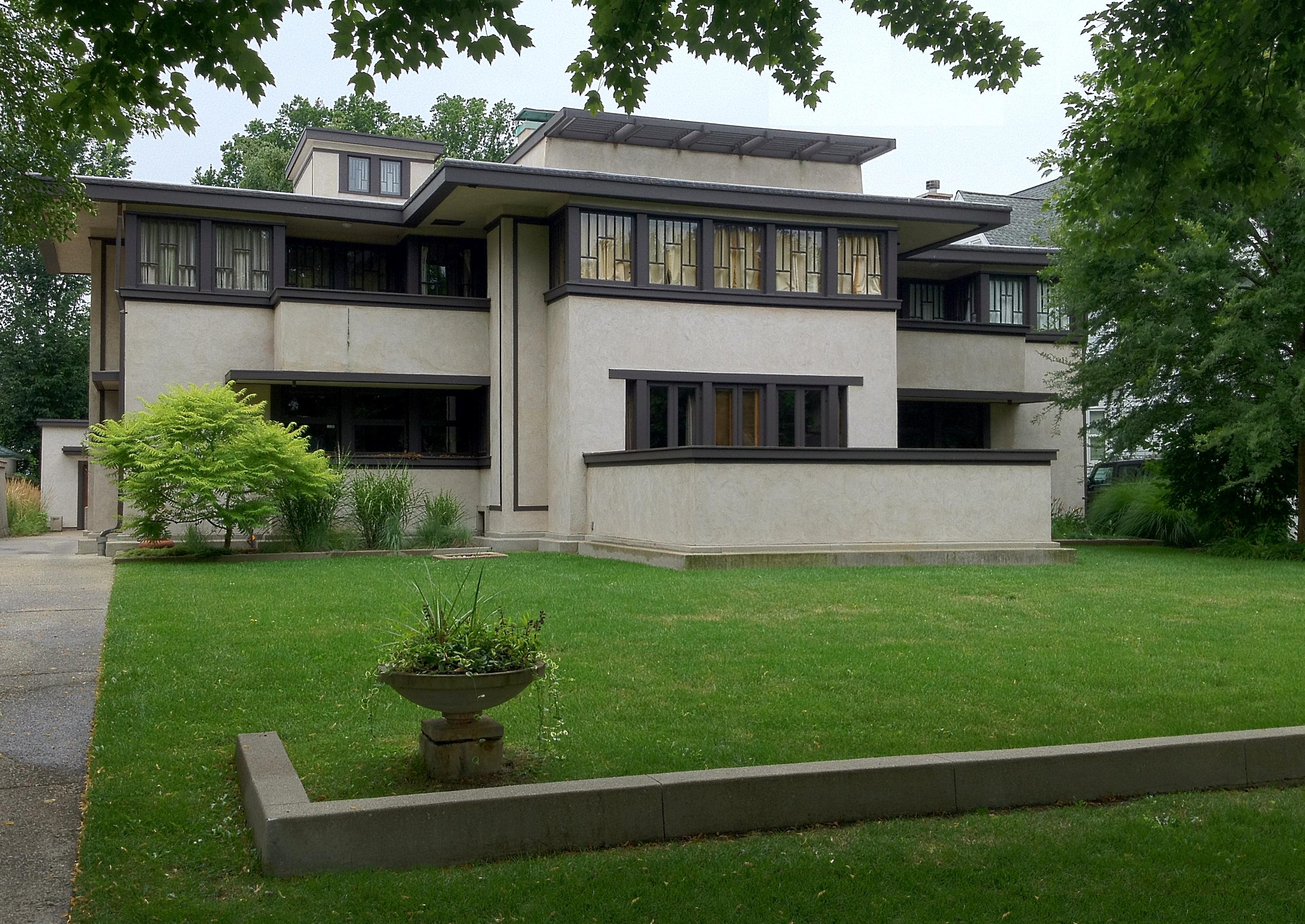 Frank Lloyd Wright's Oak Park Illinois Designs The Prairie