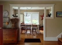 Craftsman Bungalow Dining Room Trim