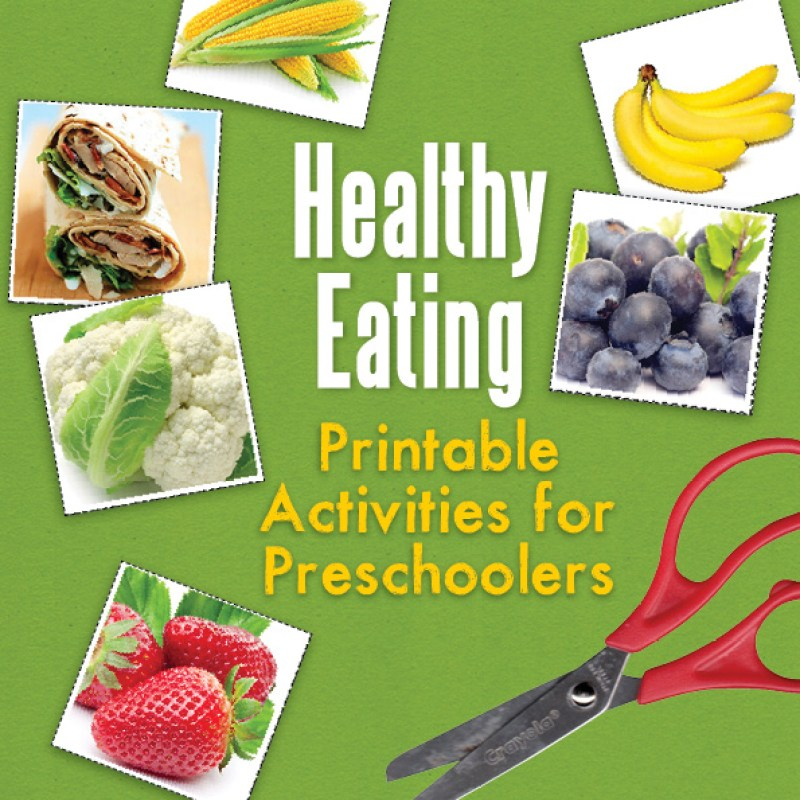 Healthy Eating printable activities
