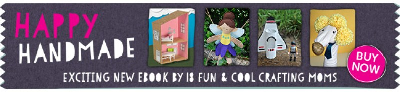 Happy Handmade Ebook - tons of fun craft projects for kids