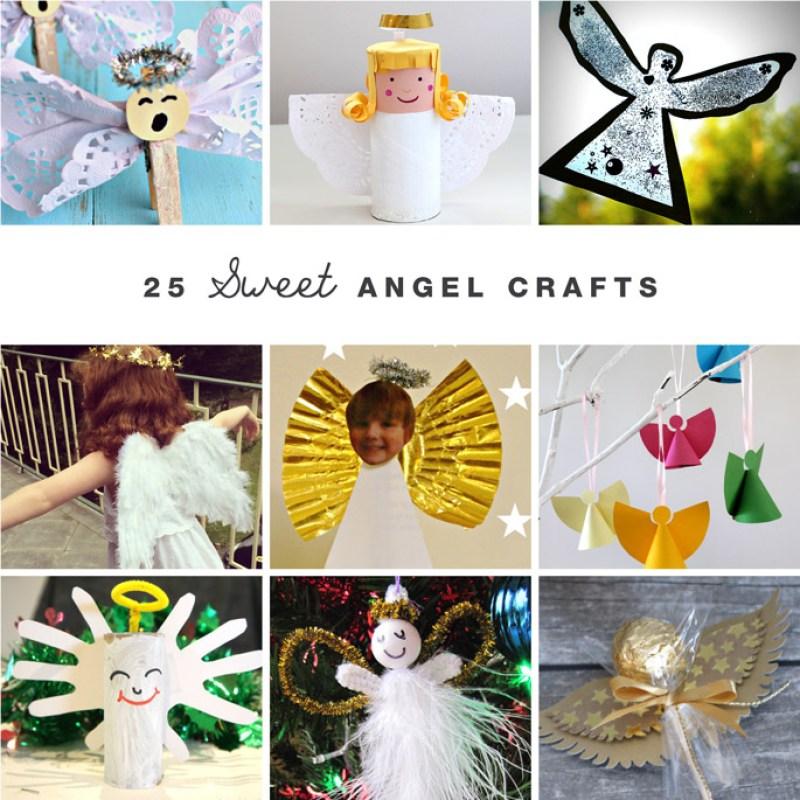 25 Sweet Angel Crafts