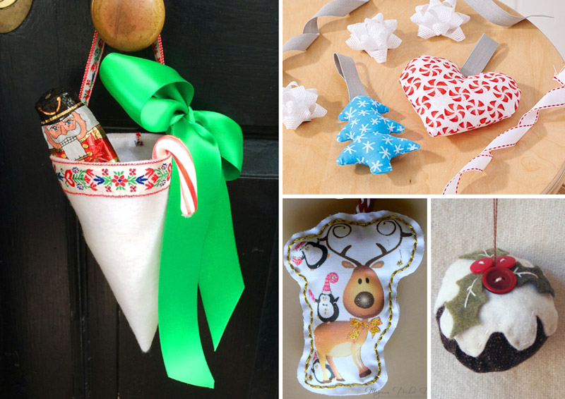 Easy Christmas sewing crafts