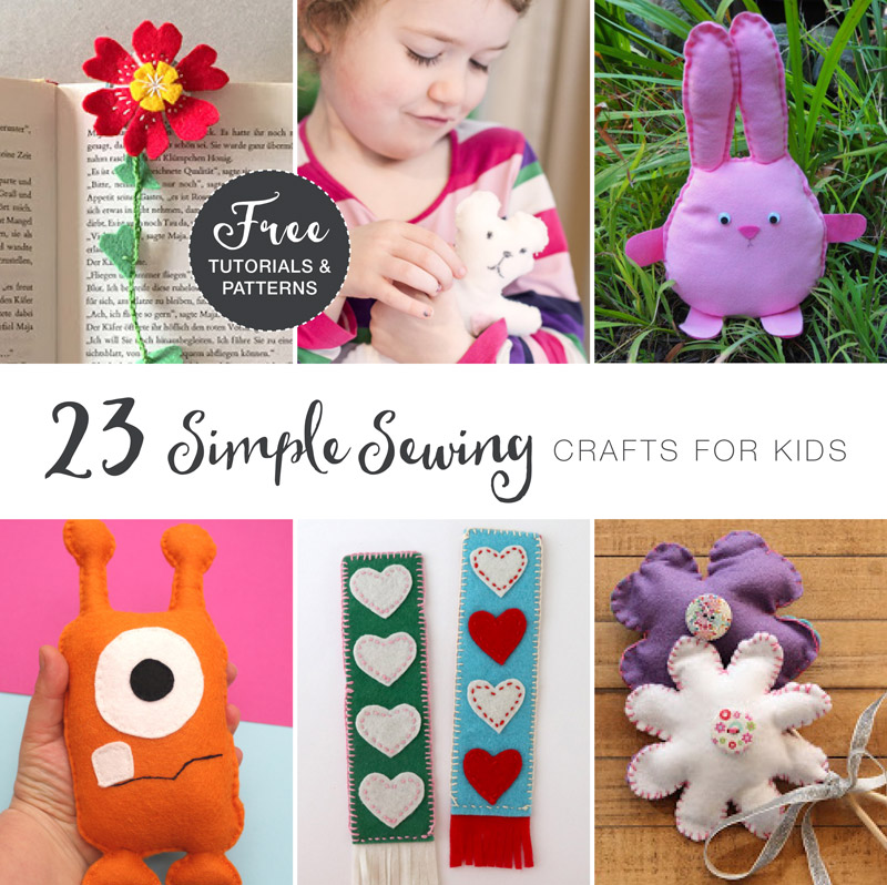 Easy ideas for sewing with kids