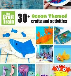 30+ Ocean crafts and activities   The Craft Train [ 1225 x 700 Pixel ]