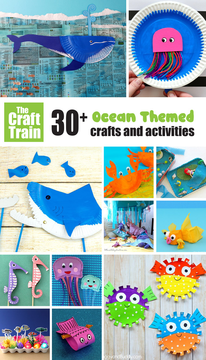 hight resolution of 30+ Ocean crafts and activities   The Craft Train