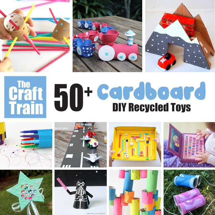 Homemade Cardboard Toys For Kids To Make And Play With The Craft Train