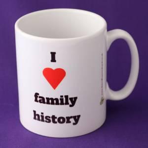 I love family history mug