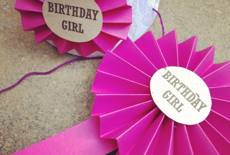 Party Hat and Rosette