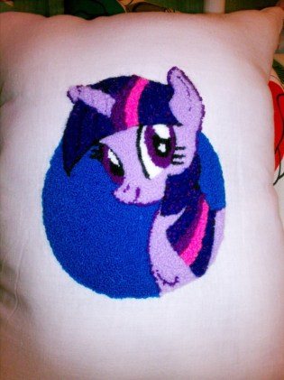 Made for a My Little Pony: Friendship is Magic swap on Ravelry!