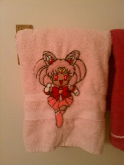 This one hangs in my bathroom, haha.