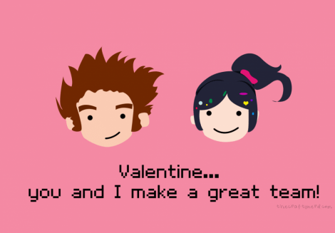 You and I make a great team!