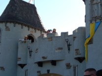 Waiting for the faire to open