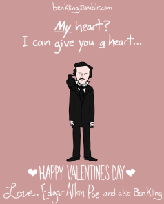 Of course Poe has a heart for you.