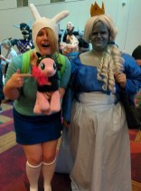 Fionna and the Ice Queen love Pinkie!
