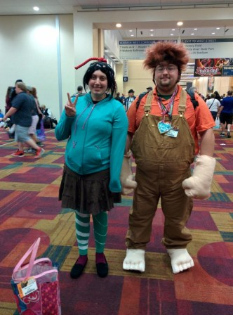 Vanellope and Ralph!