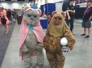 YUB NUB. These were some awesome Ewoks!