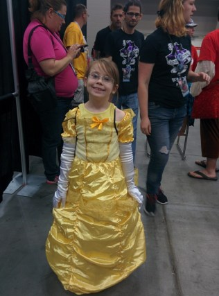A tiny little Belle!