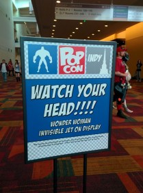 I love the signs at PopCon, they always make me giggle!
