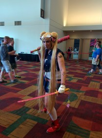 Punk Sailor Moon was one of the most awesome costumes I saw.