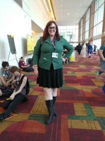 It was really awesome to see someone cosplaying as Daria.